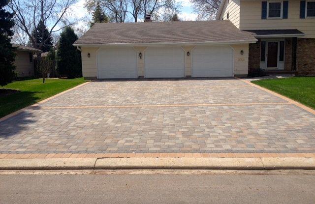 Brick Driveway vs Concrete Brick-paver-driveway
