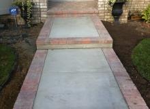 Brick Paver Sidewalks and Steps