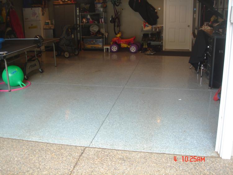 Garage floors cost concrete garage floors for Garage floor cost