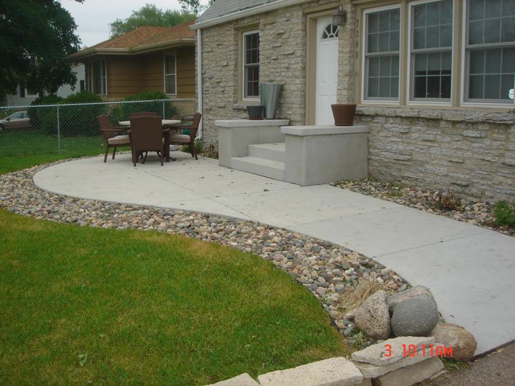 Concrete Patios - A. Pietig Concrete & Brick Paving on Concrete Slab Patio Ideas id=93340