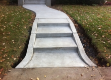 Concrete Sidewalks and Steps